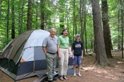 Camping Gilson Pond