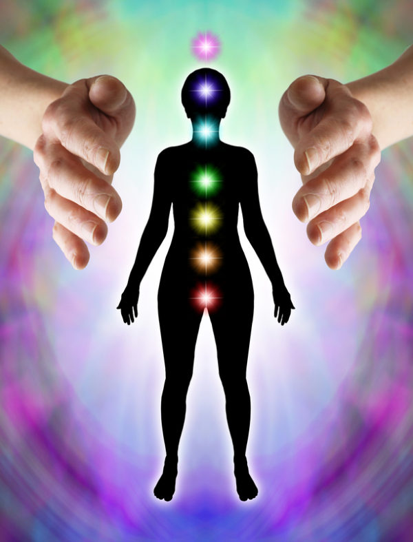 Chakras and reiki energy flow