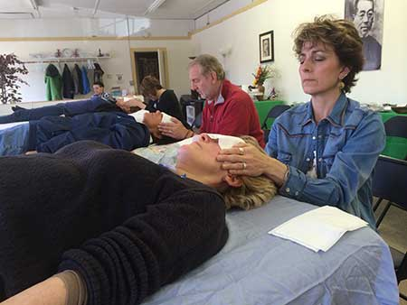 teacher-guided reiki practice