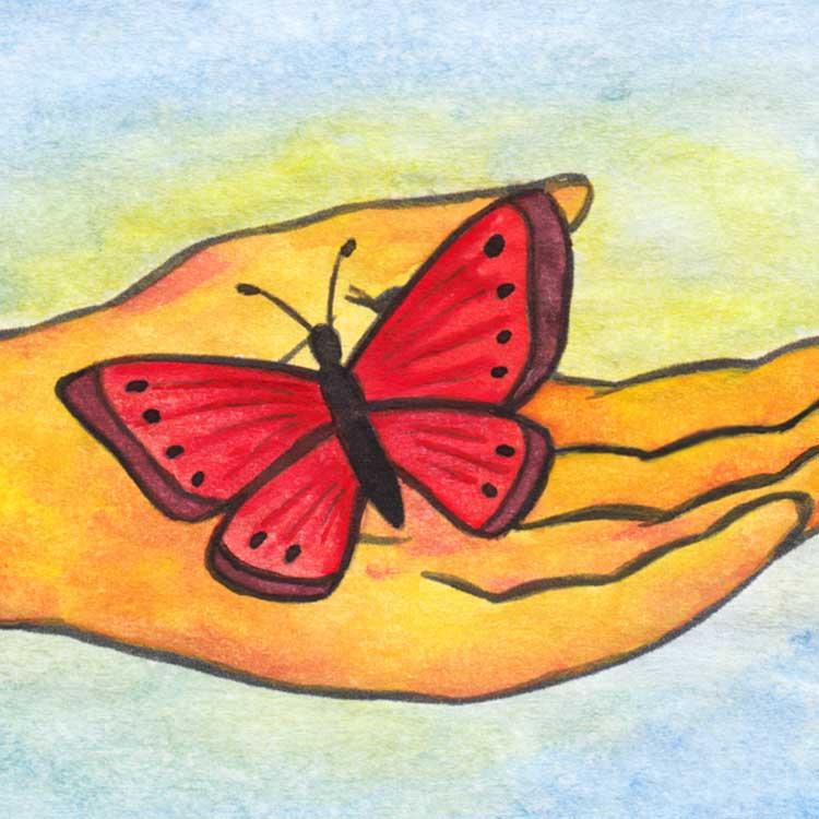 Reiki Healing Butterfly